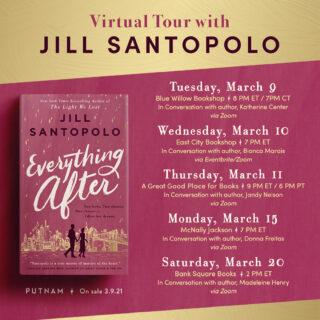 A Virtual Book Tour!